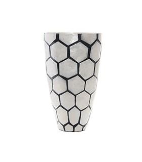 Vase en Nacre Nid d'Abeilles