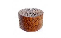 Pour moderne lumineux en bois ajouré