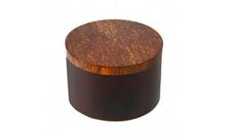 Boite cannelle et bois ronde
