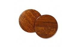 Set de sous-verres fait mains en bois cannelle