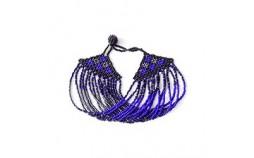 Bracelet en Perles Bleu