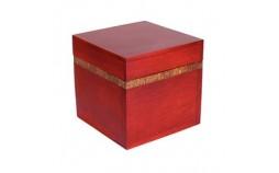 large boite cannelle et bois carré