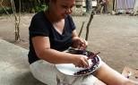 Indonesie - Mosaïque de verre