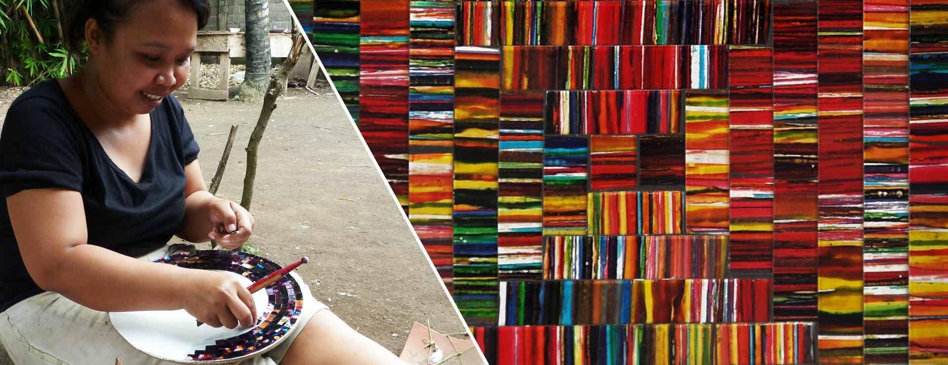 Ithemba collabore avec des artisans dans différents pays